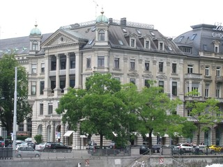 European Building in Zurich, Switzerland