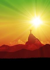 Brazil sunrise