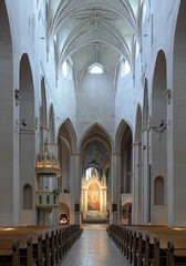 Interior of the Turku Cathedral, Finland