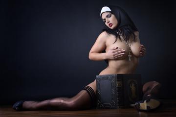 Einne Nonne ganz privat