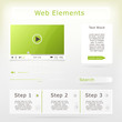 Web elements collection set