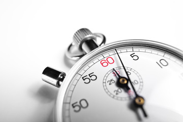 close-up Stopwatch