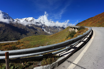 The Alps in autumn