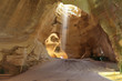 Clay huge caves beautifully illuminated