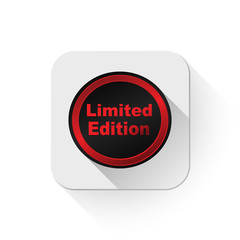 limited edition seals With long shadow over app button