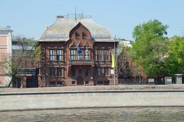 Особняк Цветкова И.Е. на Пречистенской набережной в Москве