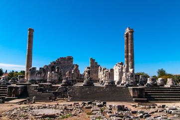 Apollo ruins at Didim, Turkey