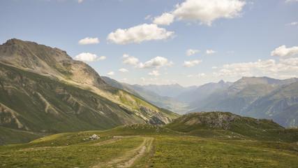 Corviglia, St. Moritz, Alpen, Wanderung, Graubünden, Schweiz