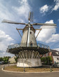 Typical Dutch windmill