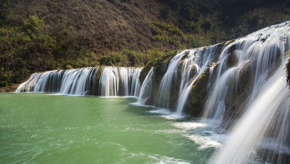The Jiulong (nine dragon )waterfall yunnan