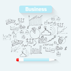 Sketch business background