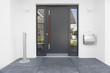 Haustür mit Glaseinsatz - 65600143
