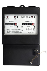 Two-tariff electric meter