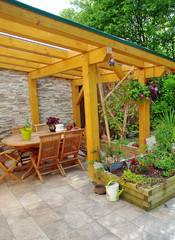 terrasse de maison