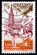 Postage stamp France 1978 Gymnasts, Strasbourg Cathedral and Sto