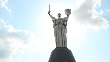Motherland - monument in Kyiv, Ukraine