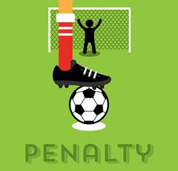 Penalty taker