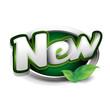 Green new button