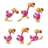 Jumping Dodo Animation Sprite