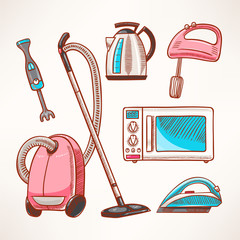 household colored appliances