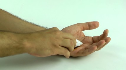 Medical Dressing Hand