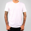 white t-shirt template - 65612508