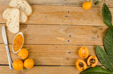 Loquats and marmalade