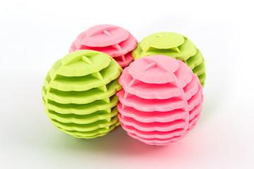 Colorful of washing ball.