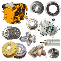 motor and few automotive parts