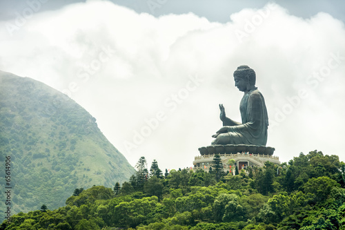 Zdjęcia na płótnie, fototapety, obrazy : Tian Tan Buddha