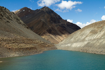 Suraj Taal mountain sacred lake