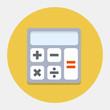 Vector calculator icon
