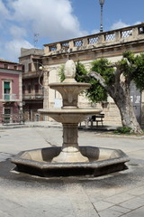 Le fontane di Comiso