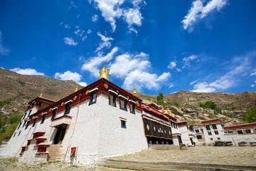 Sera Monastery in Lhasa, Tibet