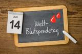Am 14. Juni ist Weltblutspendetag