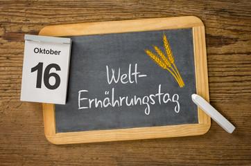 Am 16. Oktober ist Welternährungstag