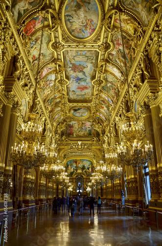 Papiers peints Opera, Theatre Les ors de l'Opéra Garnier