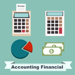 Accounting Financial concept