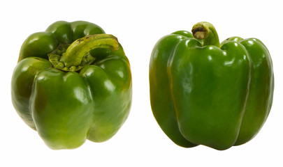 Three color peppers