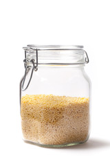 Couscous Into A Jar