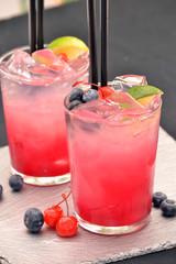 Coctel bebida alcohólica,sea breeze coctel.