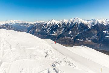 Ski resort Bad Gastein in mountains, Austria
