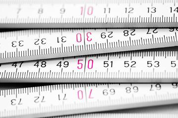 folding meter rule