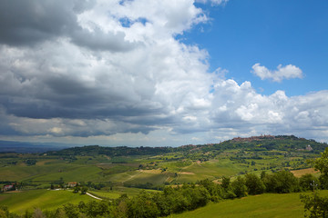 Tuscany Hills and Countryside in Chianti region, Italy