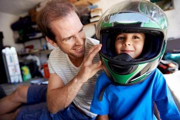 fun helmet boy