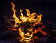 Lagerfeuer, offenes Feuer, Flammen, Glut, Freudenfeuer :)