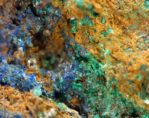 Fototapeta Crystals. Extreme closeup