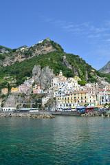 Amalfi vista da Marina Grande