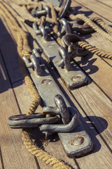 Marine ropes and rigging