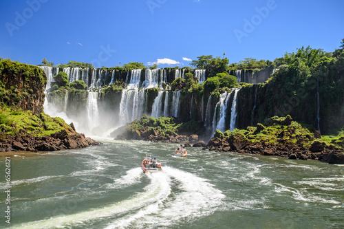 Deurstickers Watervallen Iguazu falls, Argentina